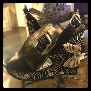 Carlos Santana Wedge Sandals